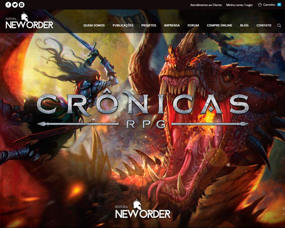 Site da editora neworder