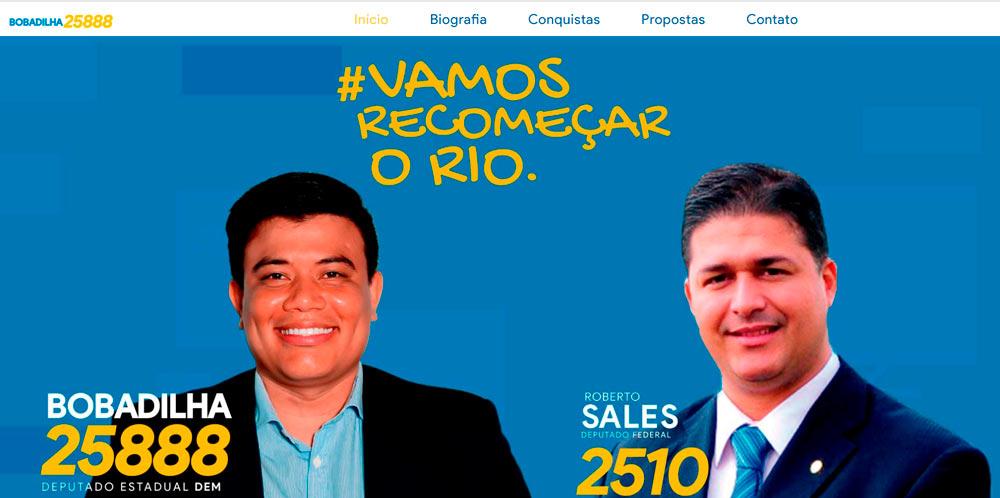 Site Candidato Bobadilha