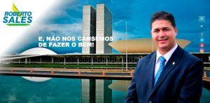 Site deputado Roberto Sales