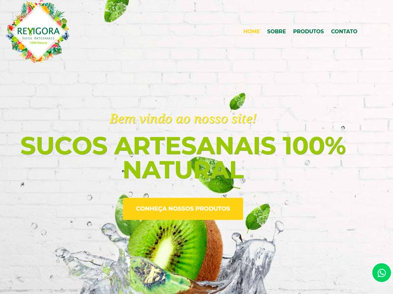 site revigora sucos